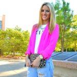 How to Wear Boyfriend Jeans + Sincerely Jules Célfie T-Shirt