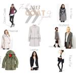 Fall 2013 Coat Guide