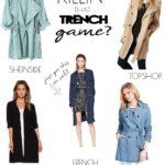 TUESDAY TEN: TRENCH COAT TREND