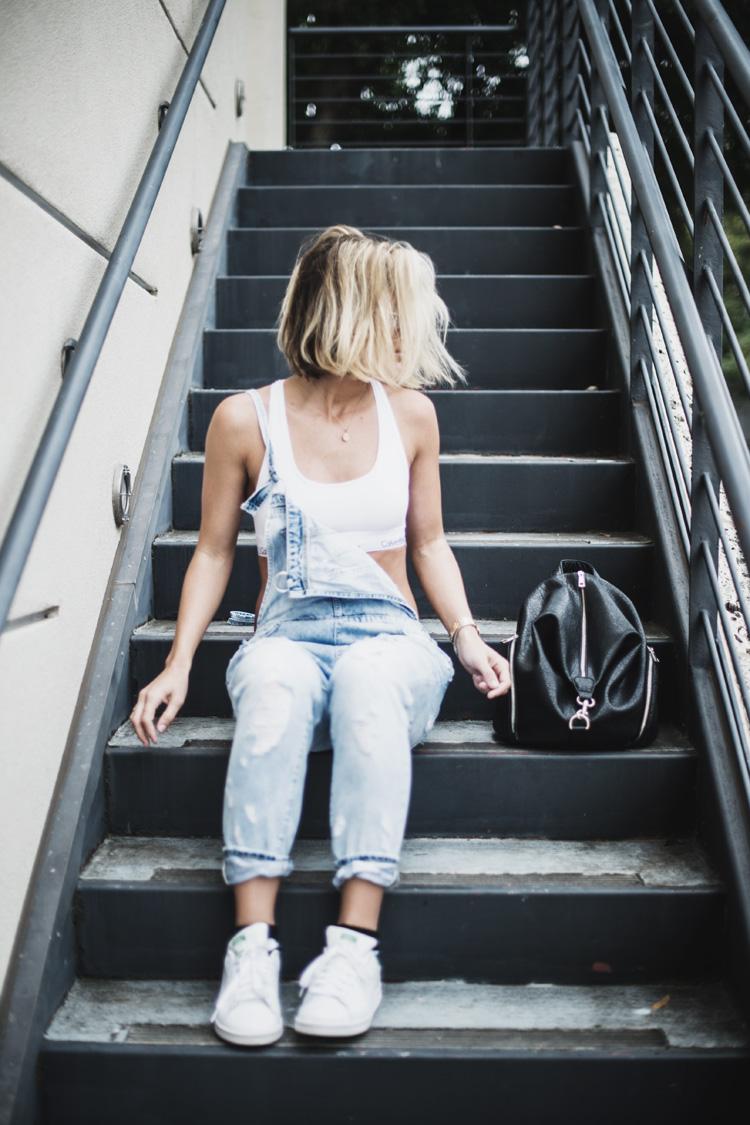 Overalls + Calvin Klein - So Sage Blog