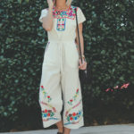 Embroidered Jumpsuit Under $90