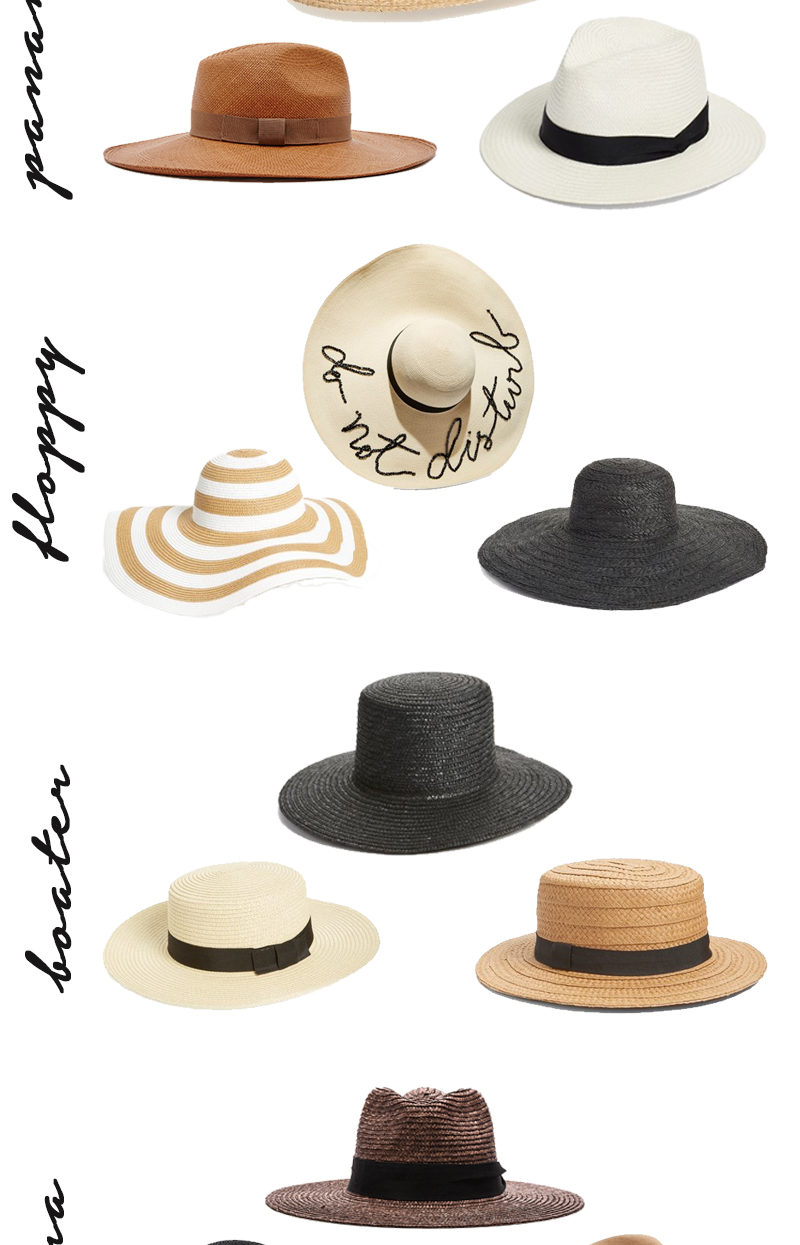 hats to wear for summer 2016