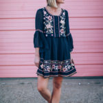 Dress & Sneakers with People Style Watch x French Connection
