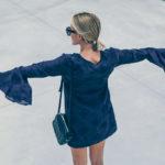 Trending: Bell Sleeve Dress