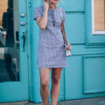 From Day to Date Night: Gingham Print Dress
