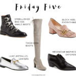 Friday Five: 5 Shoes You NEED For Fall
