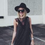 Lace Inset Shift Dress