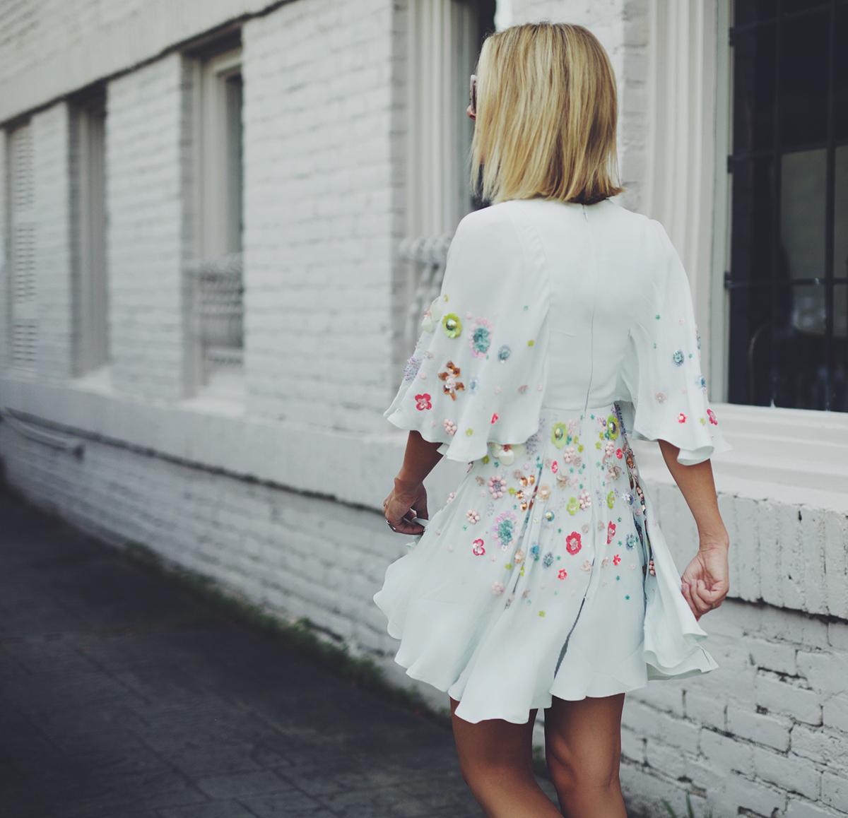 ASOS 3D floral embellished dresses