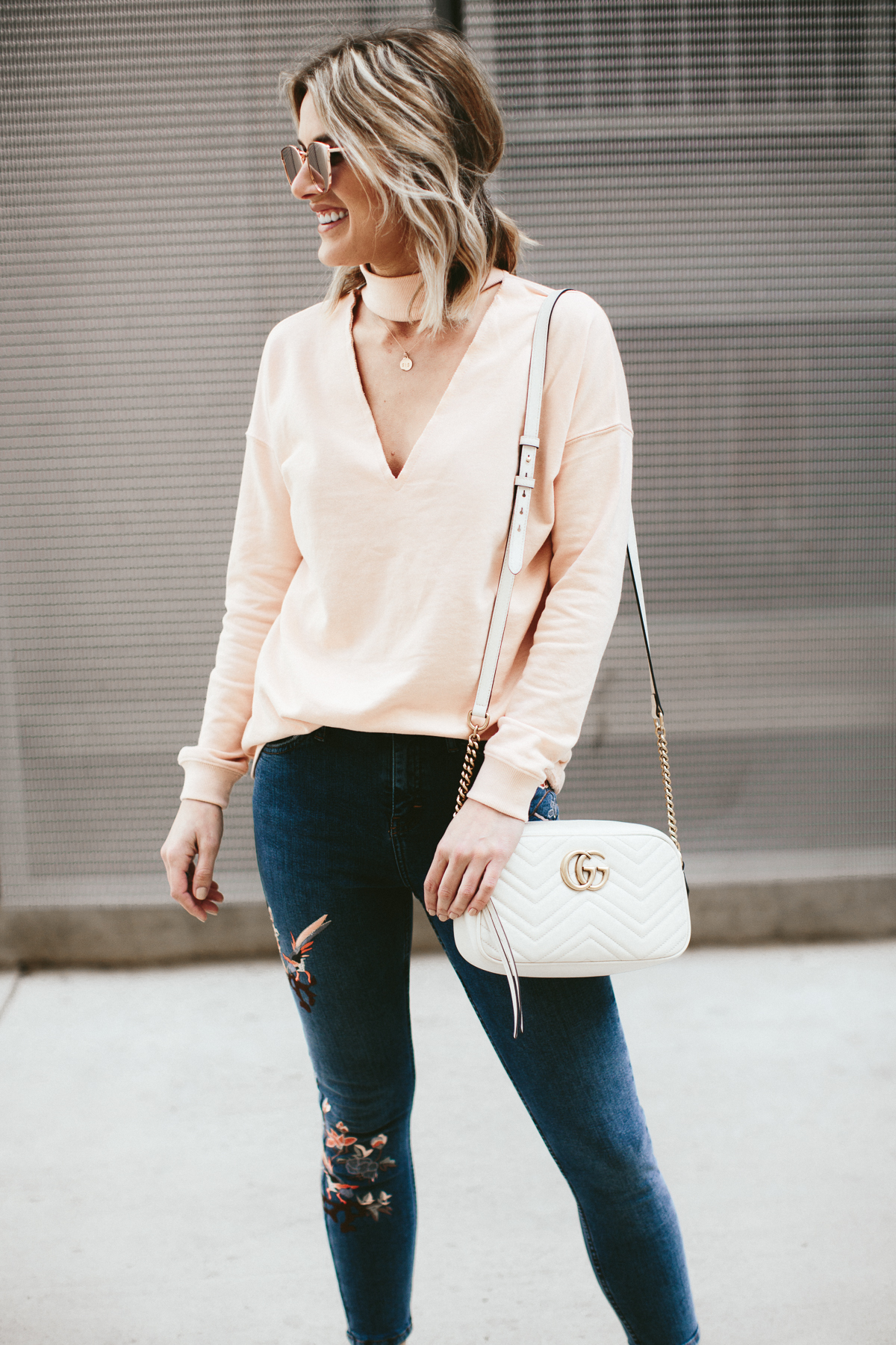 fun embroidered jeans under $100