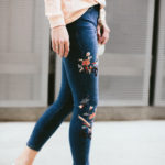 Trend Alert: Embroidered Jeans