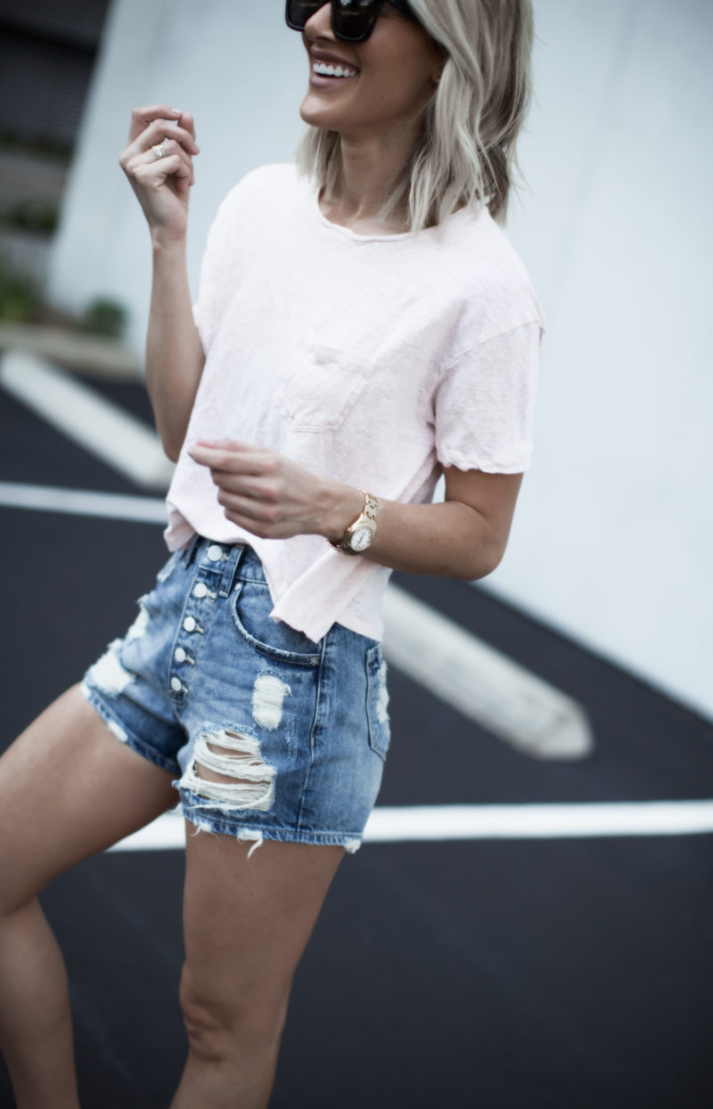 cute denim shorts under 60