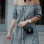 The Gingham OTS Dress You Need | Boohoo.com