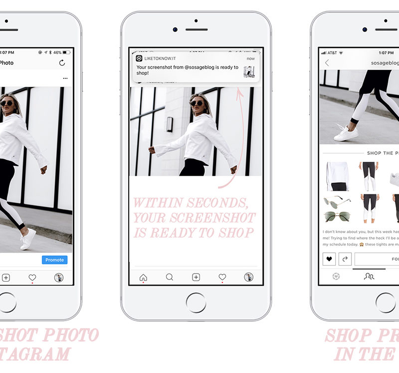 a tutorial on how to use the LIKEtoKNOW.it app by blogger Sage Coralli of So Sage Blog