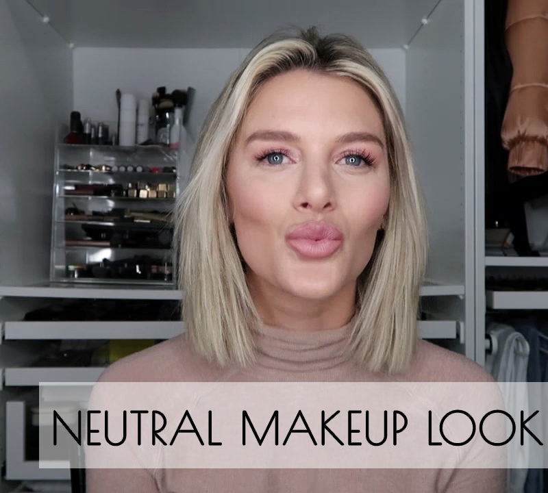 YouTube tutorial of So Sage sharing her neutral makeup look and foundation routine