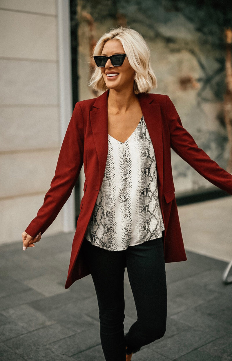 Sage Coralli of So Sage Blog updating her wardrobe for the New Year with Stitch Fix