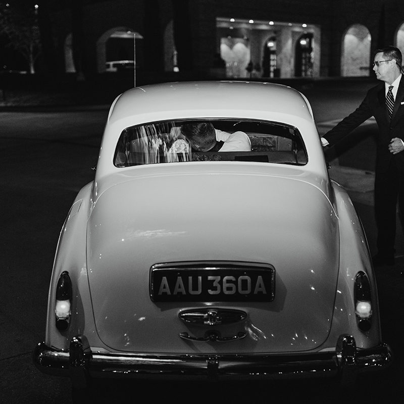 the best wedding exit car rental in Dallas