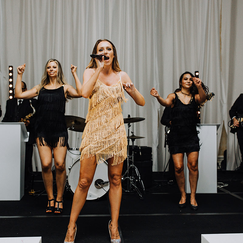 the best live band for a wedding reception in dallas