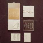 Our Acrylic Wedding Invitations