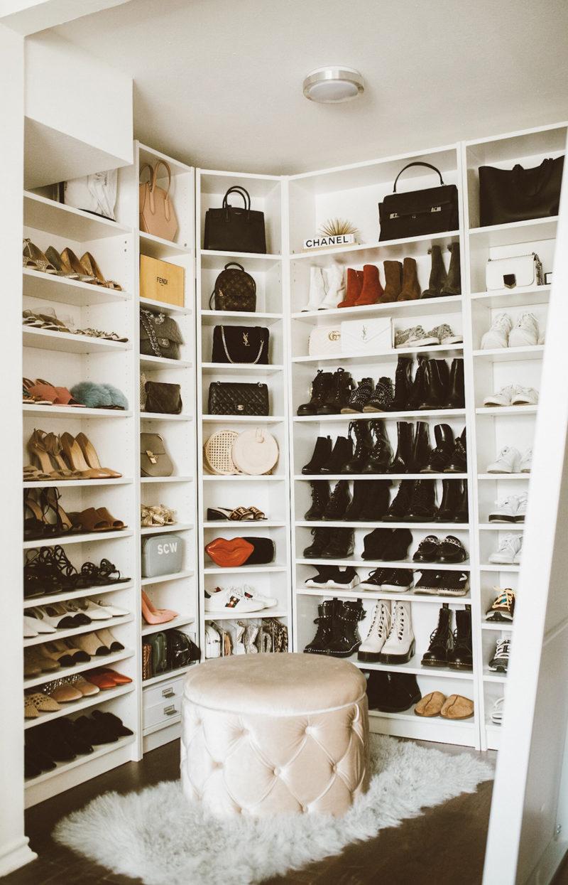 So Sage Blog transformed spare bedroom into cloffice space
