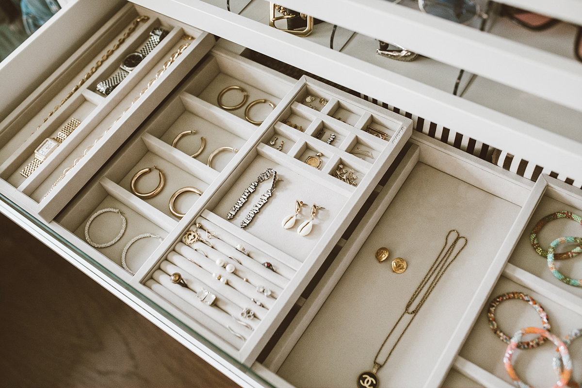 So Sage Blog cloffice jewelry organization