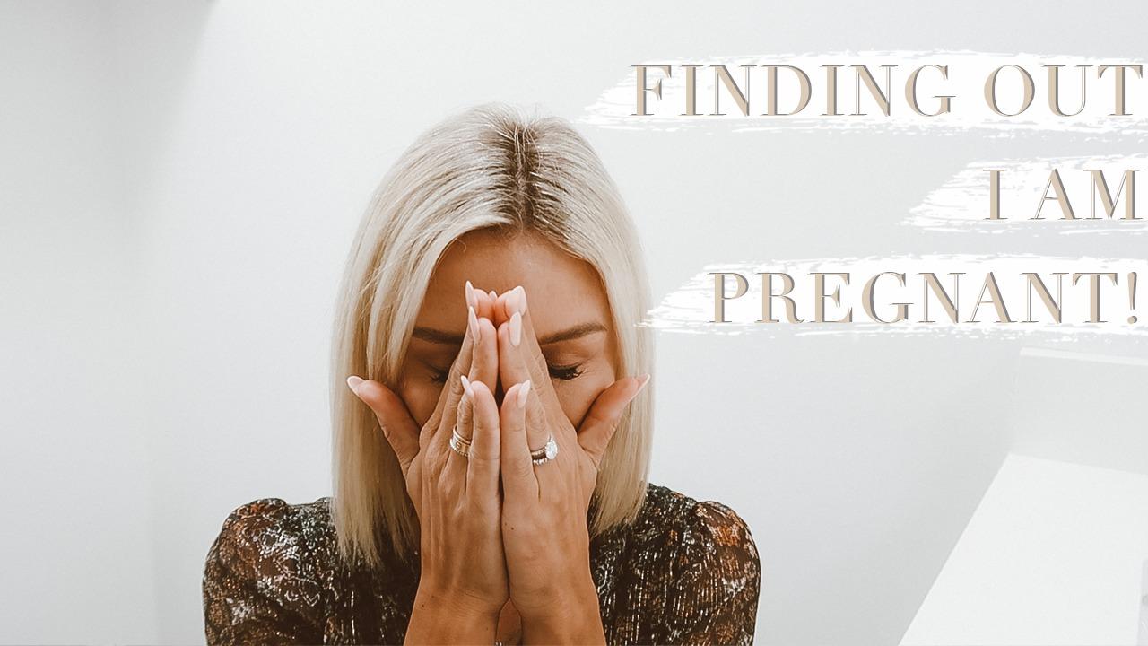 emotional pregnancy announcement So Sage Blog