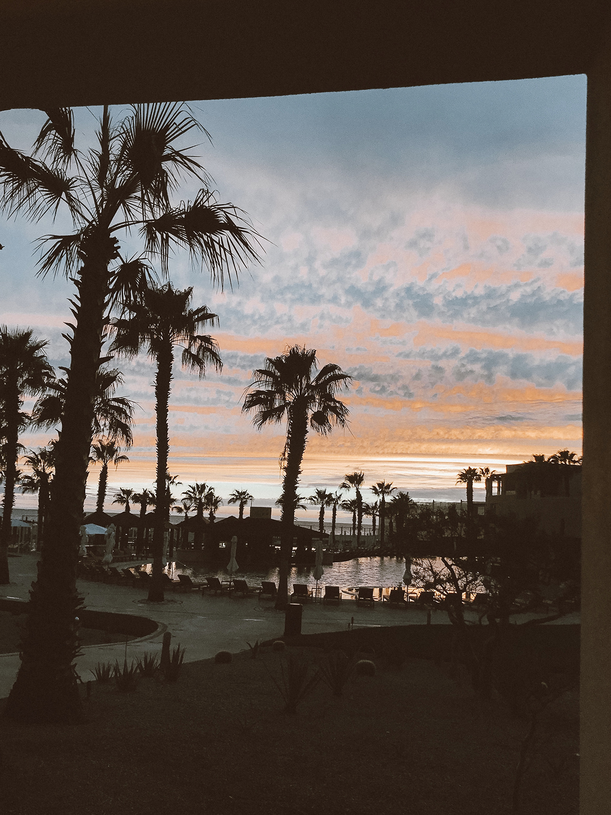 the prettiest sunset at pueblo bonito pacifica resort!