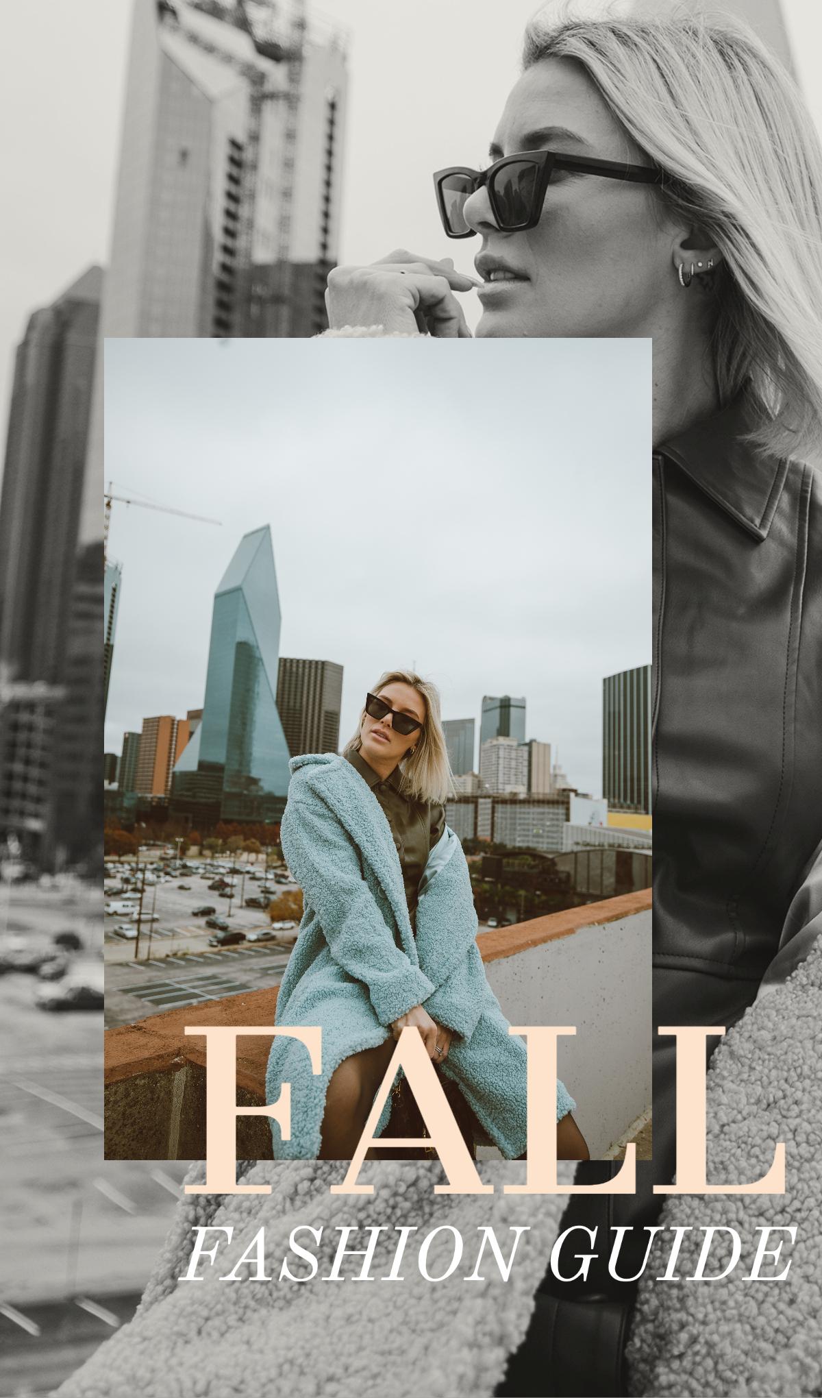 2020 Fall Fashion Guide