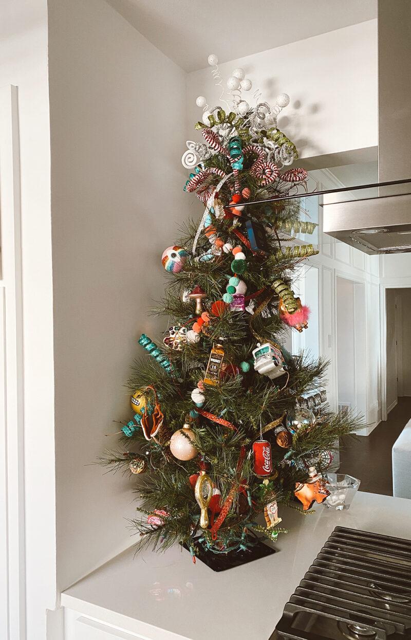 funky christmas holiday tree