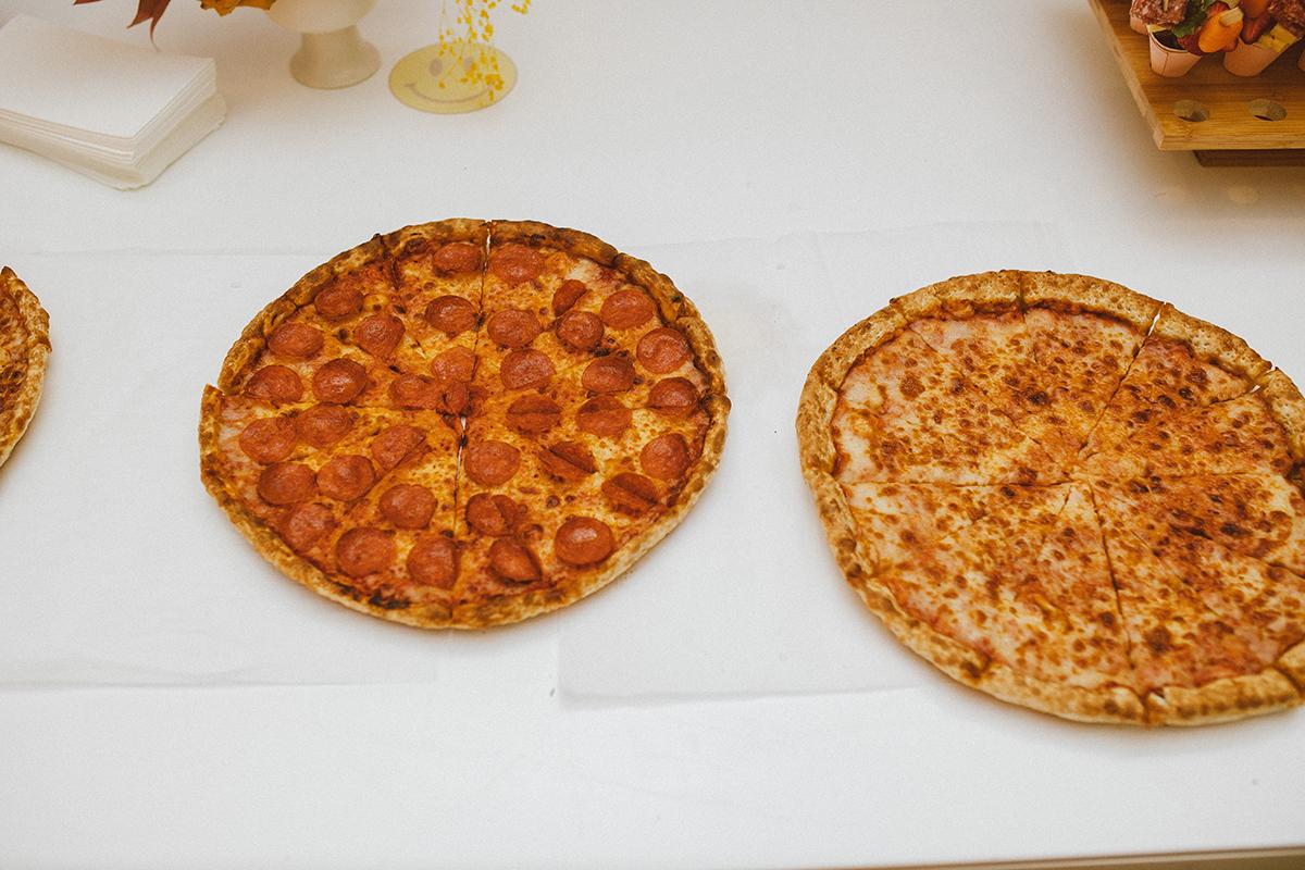 birthday party pizza